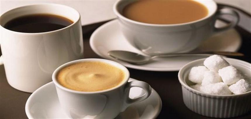 التقليل من القهوة والشاي