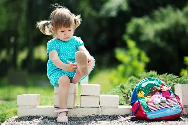 التركيز على شكل الحذاء