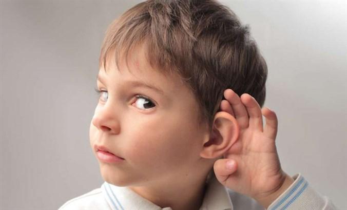 ضعف السمع الخلقي