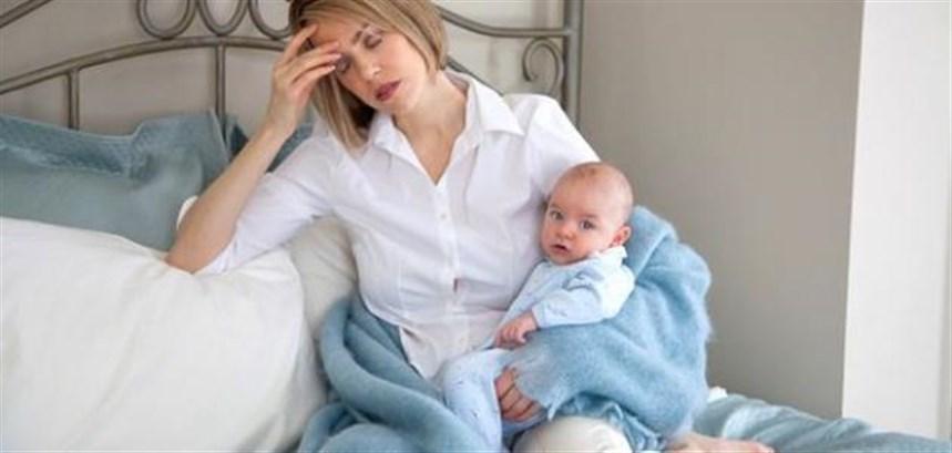التعب سيحرم الأمّ من الاعتناء بنفسها