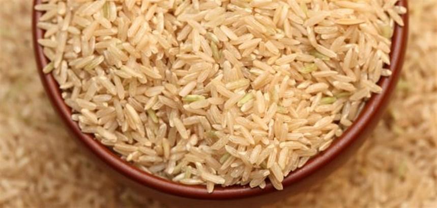 الأرز البنّي