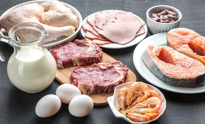 الإكثار من مشتقات الألبان واللحوم