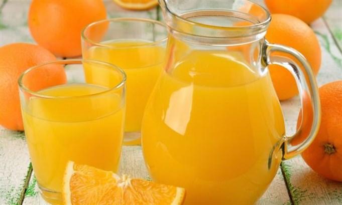 عصير البرتقال