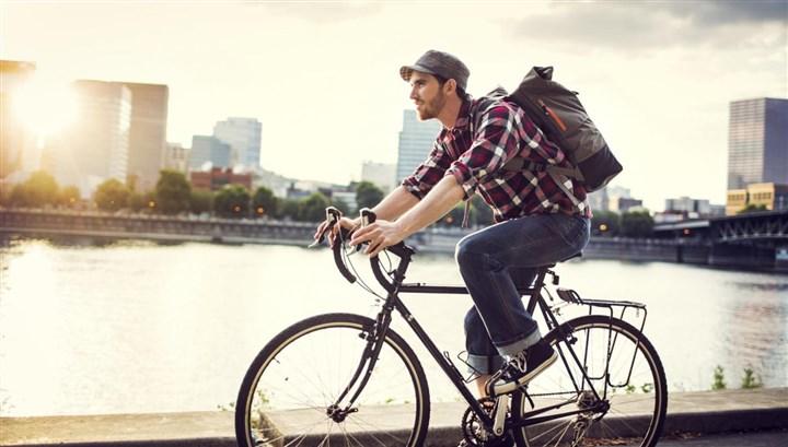 استخدام الدراجة الهوائية