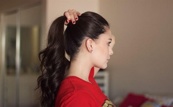 شدّ الشعر بإحكام