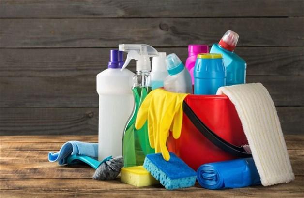 المبيدات ومنتجات التنظيف