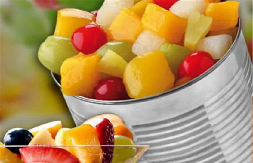 الفواكه المُعلّبة