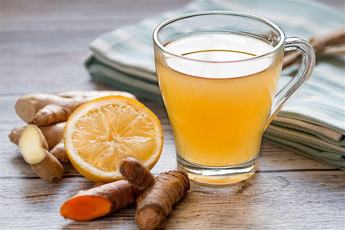 الكركم والليمون