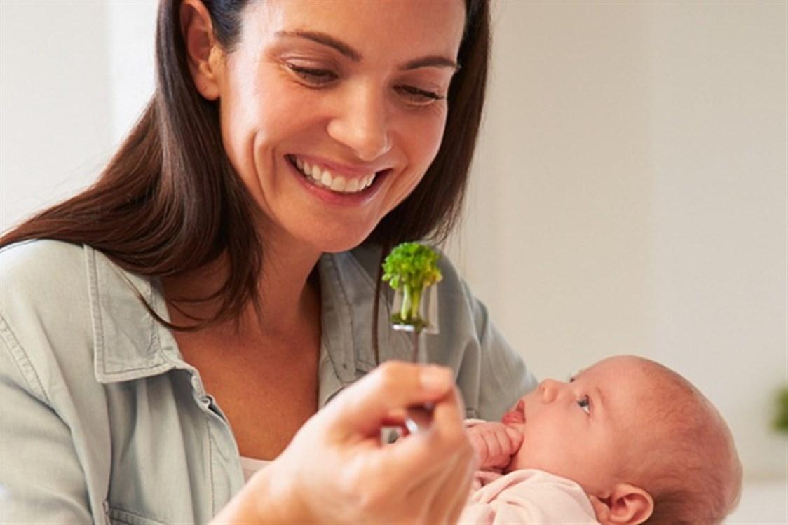 التغذية الامثل للأم المرضعة