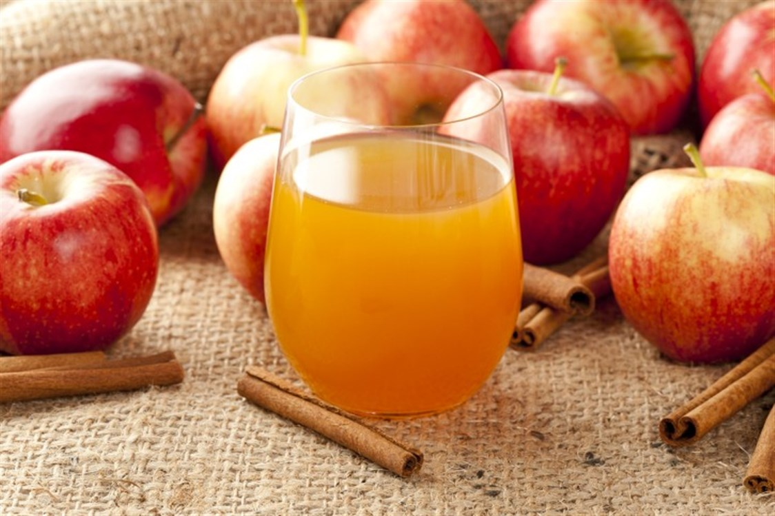 عصير التفاح للاسهال