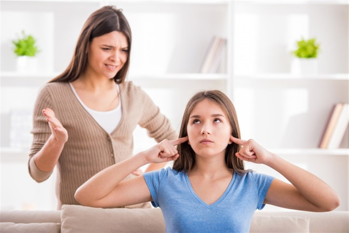 مشاكل المراهقين وآبائهم